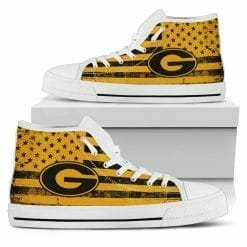 NCAA Grambling State Tigers High Top Shoes