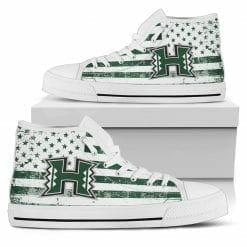 NCAA Hawaii Warriors High Top Shoes