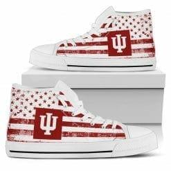 NCAA Indiana University Kokomo High Top Shoes