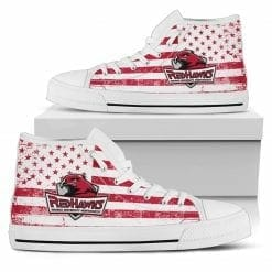 NCAA Indiana University Northwest Red Hawks High Top Shoes