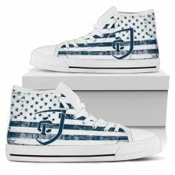 NCAA Ithaca College Bombers High Top Shoes