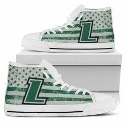 NCAA Loyola Greyhounds High Top Shoes