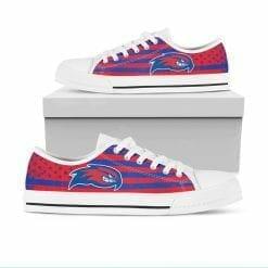 NCAA UMass Lowell River Hawks Low Top Shoes