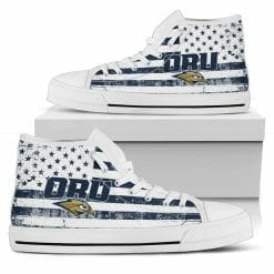 NCAA Oral Roberts Golden Eagles High Top Shoes