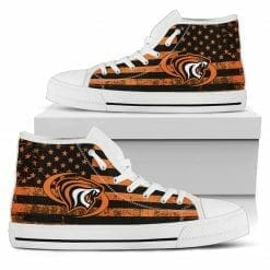 NCAA Pacific Tigers High Top Shoes