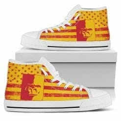 NCAA Pittsburg State Gorillas High Top Shoes