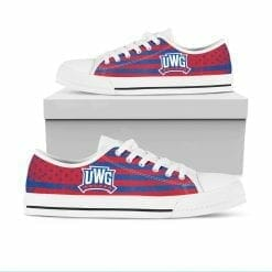 NCAA West Georgia Wolves Low Top Shoes