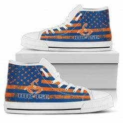NCAA Texas Brownsville Scorpions High Top Shoes