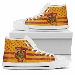 NCAA Tuskegee Golden Tigers High Top Shoes