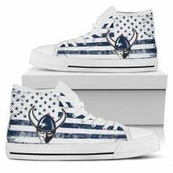 NCAA Western Washington Vikings High Top Shoes