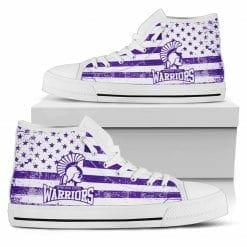 NCAA Winona State Warriors High Top Shoes