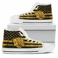 NCAA Arkansas Pine Bluff Golden Lions High Top Shoes