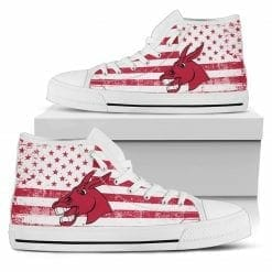 NCAA Central Missouri Mules High Top Shoes