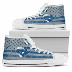 NCAA Christopher Newport Captains High Top Shoes