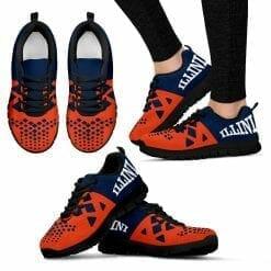 NCAA Illinois Fighting Illini Running Shoes V6