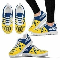 NCAA Michigan Wolverines Running Shoes V6