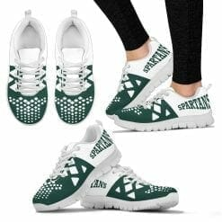 NCAA Michigan State Spartans Running Shoes V6