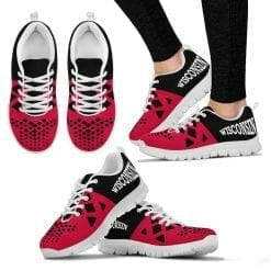 NCAA Wisconsin Badgers Running Shoes V6