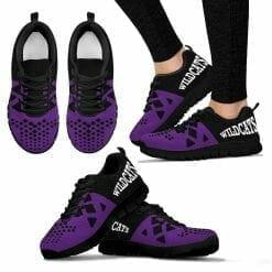 NCAA Northwestern Wildcats Running Shoes V6