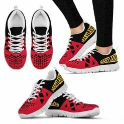 NCAA Maryland Terrapins Running Shoes V5