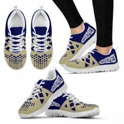 NCAA Navy Midshipmen Running Shoes V5