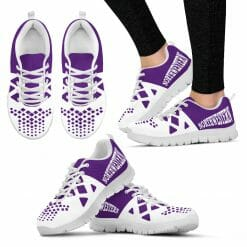 NCAA Northwestern Wildcats Running Shoes V5