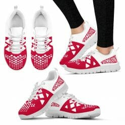 NCAA Wisconsin Badgers Running Shoes V5