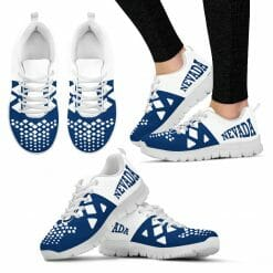 NCAA Nevada Wolf Pack Running Shoes V5