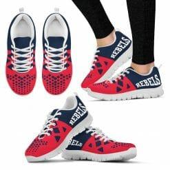 NCAA Ole Miss Rebels Running Shoes V6