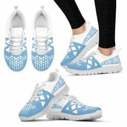 NCAA North Carolina Tar Heels Running Shoes V5