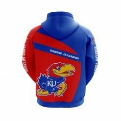 NCAA Kansas Jayhawks 3D Hoodie V1