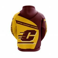 NCAA Central Michigan Chippewas 3D Hoodie V1