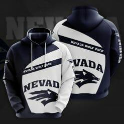NCAA Nevada Wolf Pack 3D Hoodie V1