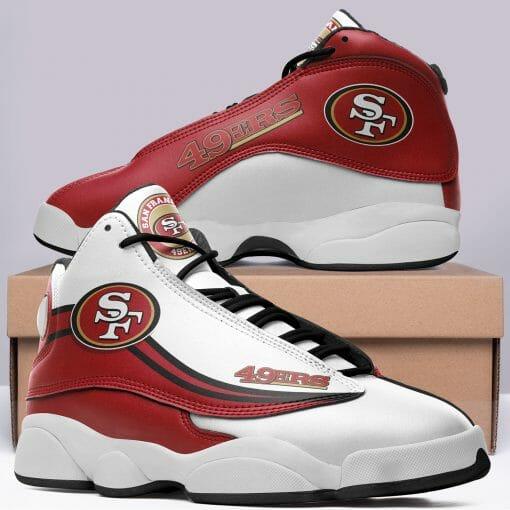 NFL San Francisco 49ers Air Jordan 13 Shoes