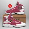 NFL Arizona Cardinals Air Jordan 13 Shoes Personalized V1