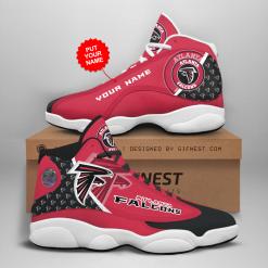 NFL Atlanta Falcons Air Jordan 13 Shoes Personalized V2