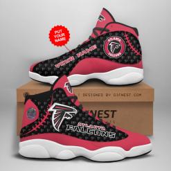 NFL Atlanta Falcons Air Jordan 13 Shoes Personalized V4