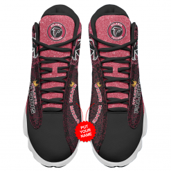 NFL Atlanta Falcons Air Jordan 13 Shoes Personalized V1