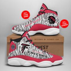 NFL Atlanta Falcons Air Jordan 13 Shoes Personalized V3