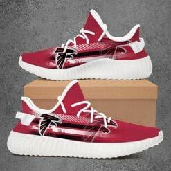 NFL Atlanta Falcons Yeezy Boost White Sneakers V4