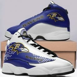 NFL Baltimore Ravens Air Jordan 13 Shoes