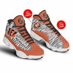 NFL Cincinnati Bengals Air Jordan 13 Shoes Personalized V2