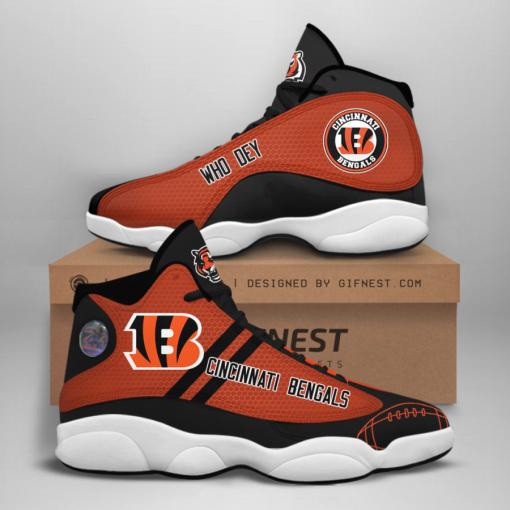 NFL Cincinnati Bengals Air Jordan 13 Shoes