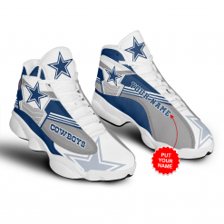 NFL Dallas Cowboys Air Jordan 13 Shoes Personalized V2