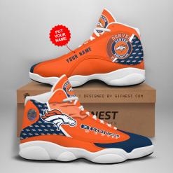 NFL Denver Broncos Air Jordan 13 Shoes Personalized V1