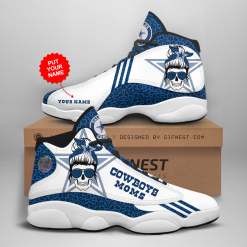 NFL Dallas Cowboys Air Jordan 13 Shoes Personalized V4