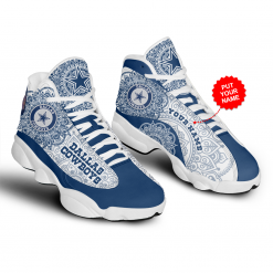 NFL Dallas Cowboys Air Jordan 13 Shoes Personalized V7