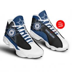 NFL Dallas Cowboys Air Jordan 13 Shoes Personalized V6