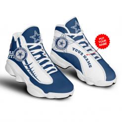 NFL Dallas Cowboys Air Jordan 13 Shoes Personalized V8