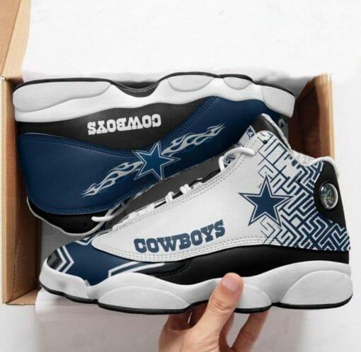 NFL Dallas Cowboys Air Jordan 13 Shoes